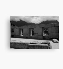 The Temple Of The Three Windows Canvas Print