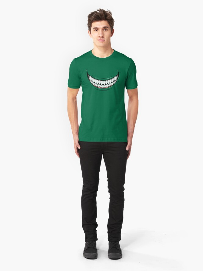 Alternate view of Evil Smile Slim Fit T-Shirt