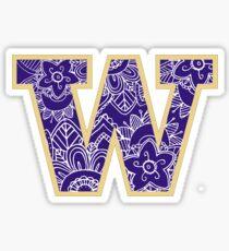 University of Washington  Sticker