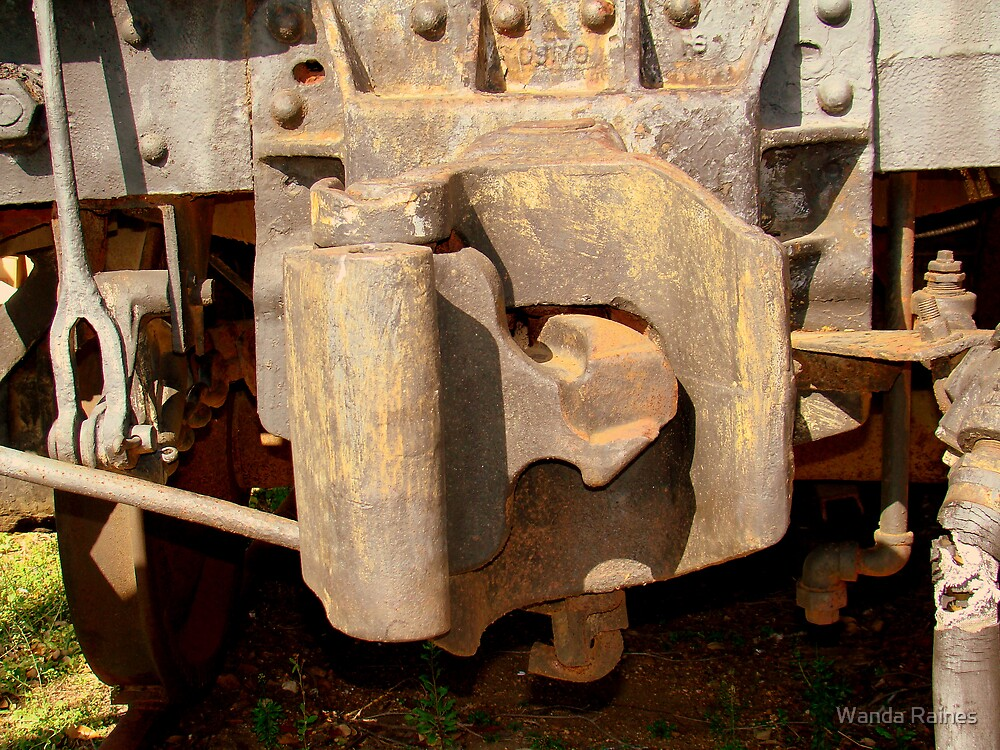 Old Train by Wanda Raines
