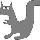 The grey squirrel by Gabe-Draws