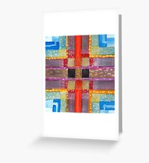 ERQ#2 - Abstract Watercolor by Dan Vera Greeting Card