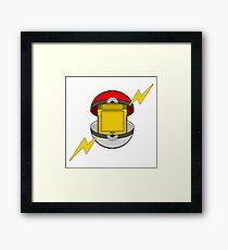 Game Cartridge Ball Framed Print