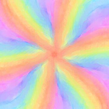 Tie Dye Rainbow by GinaLaskey