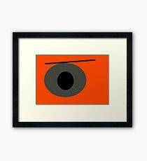 Angry Eye Framed Print
