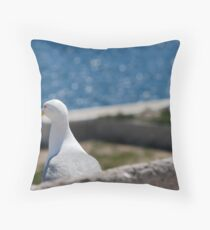 Seabird Throw Pillow