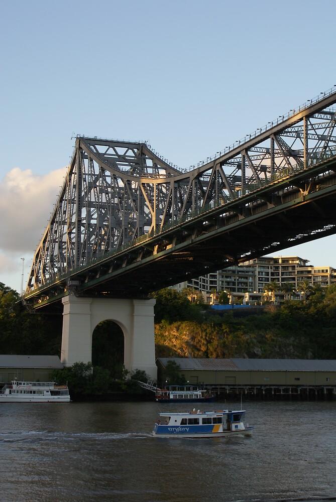 storey bridge - brisbane by ncmattson