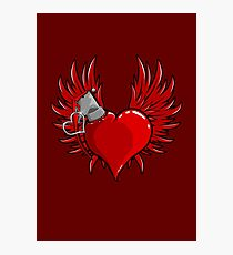 Heart Bomb Photographic Print