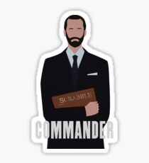 The Handmaids Tale The Commander Sticker