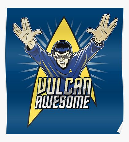 Vulcan Awesome Poster