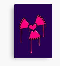 Nuclear Love Canvas Print