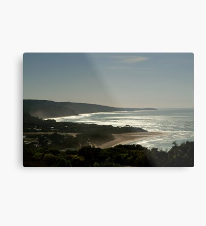 Harsh Light Anglesea,Great Ocean Rd Metal Print