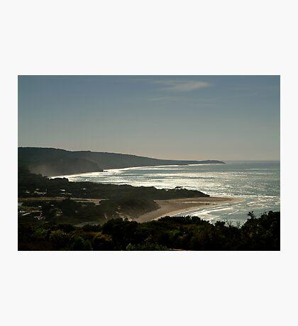 Harsh Light Anglesea,Great Ocean Rd Photographic Print