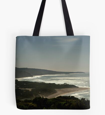 Harsh Light Anglesea,Great Ocean Rd Tote Bag