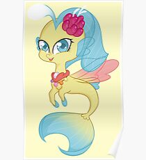 Princess Skystar - Seapony ~ My little pony:friendship is magic Poster