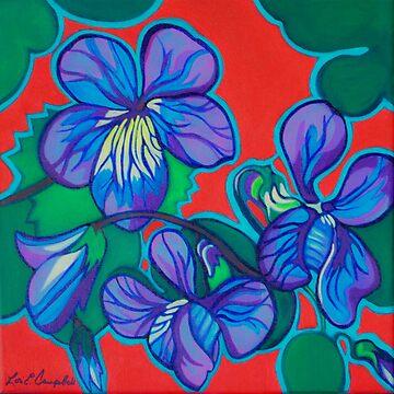 Violets by LottiDa