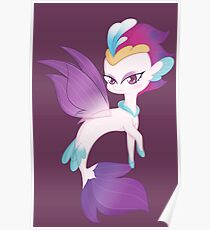 Queen Novo - Seapony ~ My little pony:friendship is magic Poster