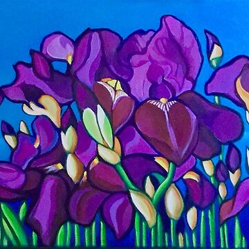 Irises by LottiDa