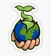 The world is in your hands Sticker