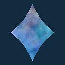 Watercolor Diamond by Badwolfworks