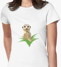 Meercat Women's Fitted T-Shirt