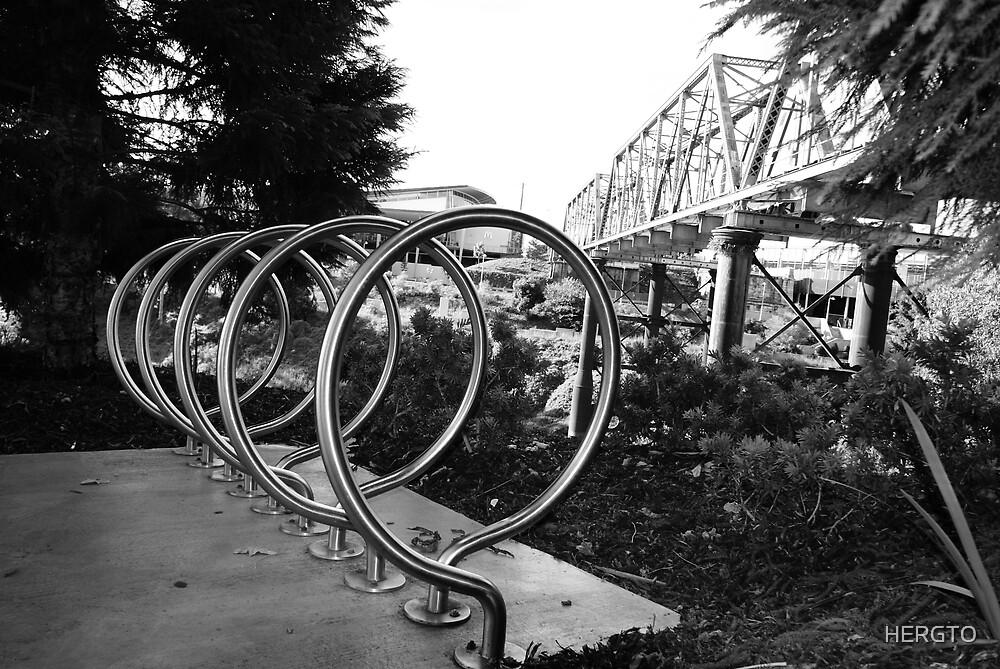 Bike racks by HERGTO
