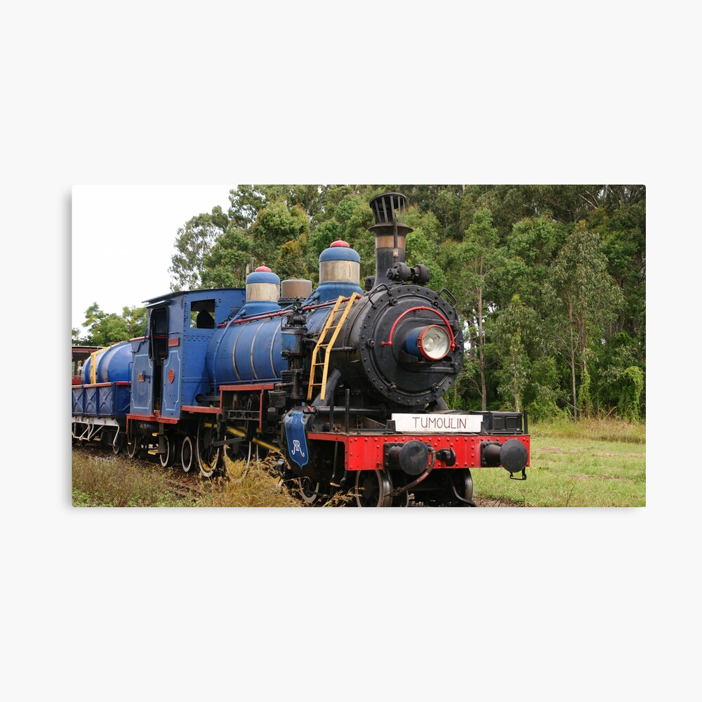 Ravenshoe Steam Train Series - Tumoulin Station Stop Canvas Print