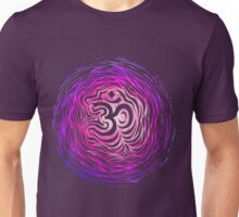 Purple om tunnel Unisex T-Shirt