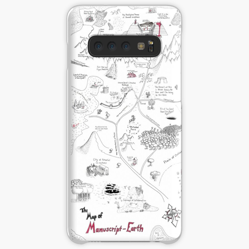 The Map of Manuscript Earth Samsung Galaxy Snap Case