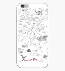 The Map of Manuscript Earth iPhone Case