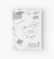 The Map of Manuscript Earth Hardcover Journal