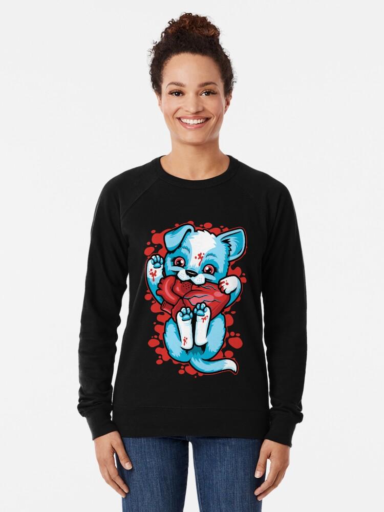 Alternate view of Puppy Love Lightweight Sweatshirt