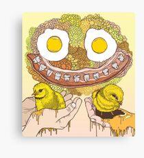 Chicken Bacon Canvas Print