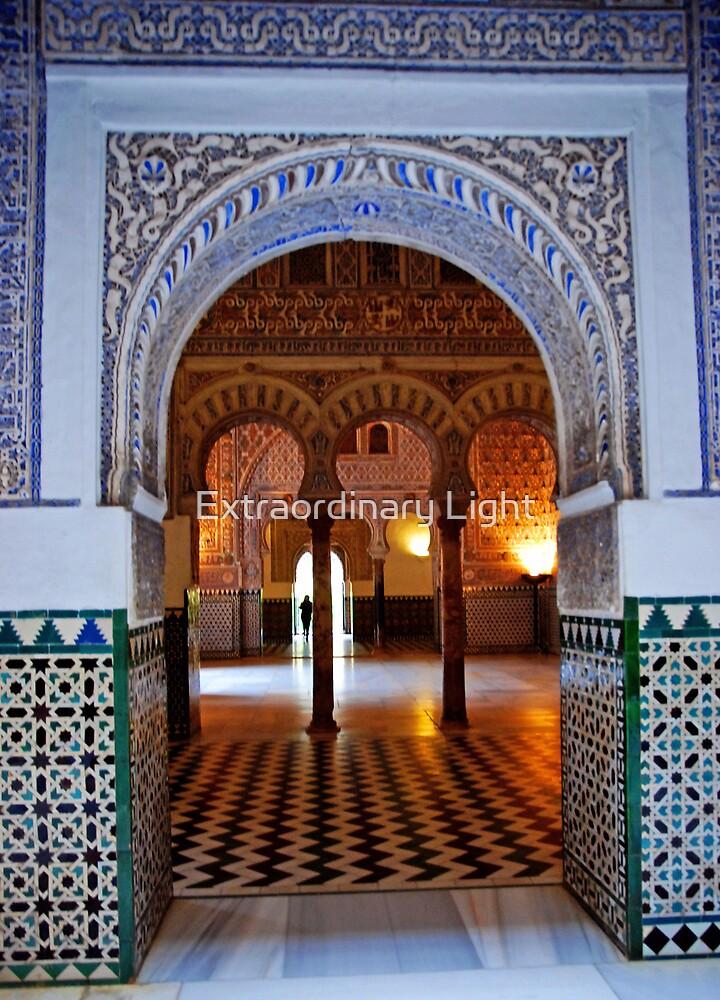 Welcoming Light of Alcazar by Extraordinary Light