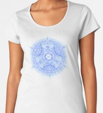 Human Transmutation Circle Women's Premium T-Shirt