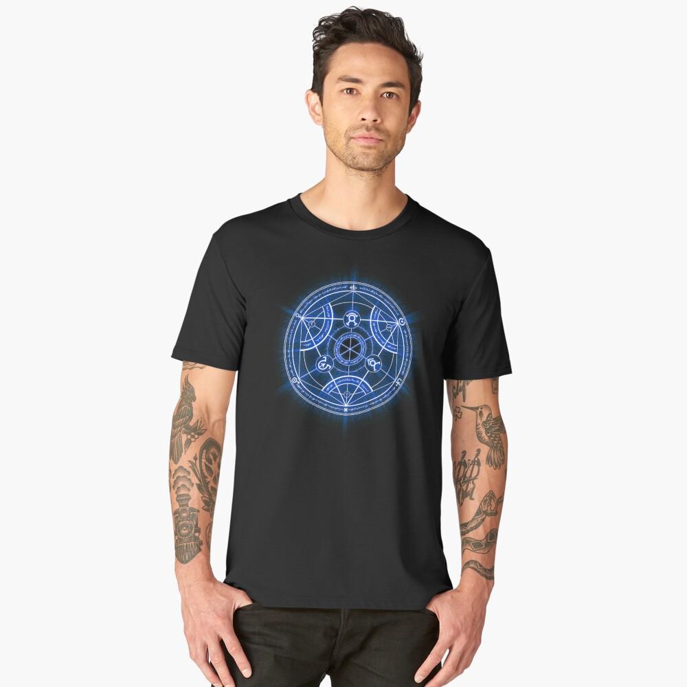 Human Transmutation Circle Men's Premium T-Shirt Front