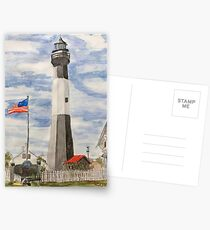 Tybee Island Lighthouse Postcards