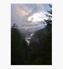 Klamath River, Hoopa, California Photographic Print