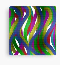 Abstract Multicolored Lines  Canvas Print