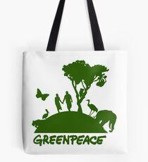 Geh grün Tote Bag