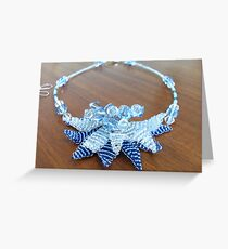 Lily Blue  Greeting Card