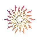 Summer Sunburst Vector Pattern by Badwolfworks