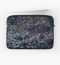 Neon Water Reflections II by Margaret juul Laptop Sleeve