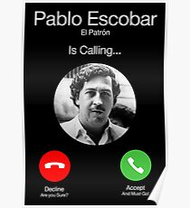 Pablo Escobar Berufung Poster
