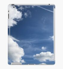 Blue Sky, Puffy Clouds iPad Case/Skin