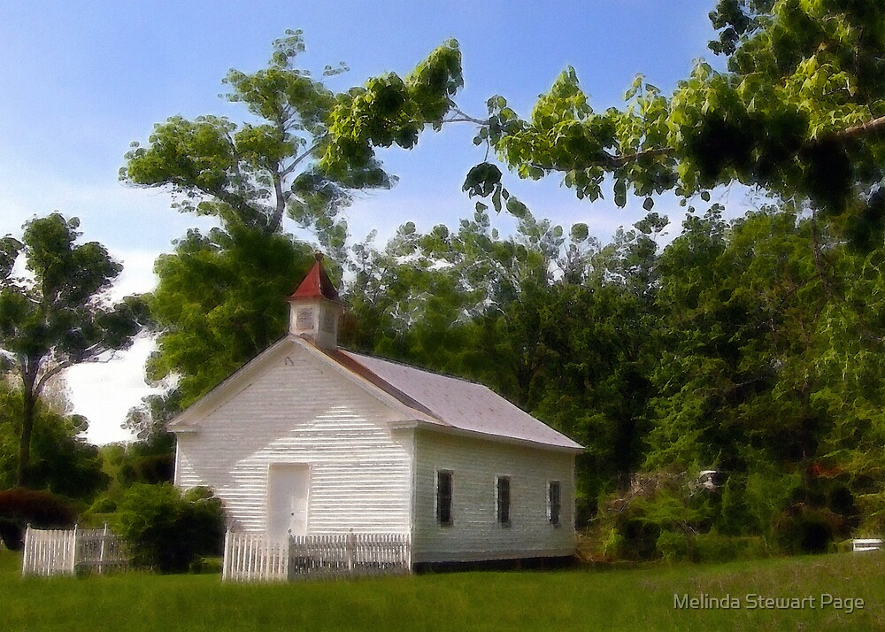 """The Pine Knob Primitive Baptist Church"" by Melinda Stewart Page"