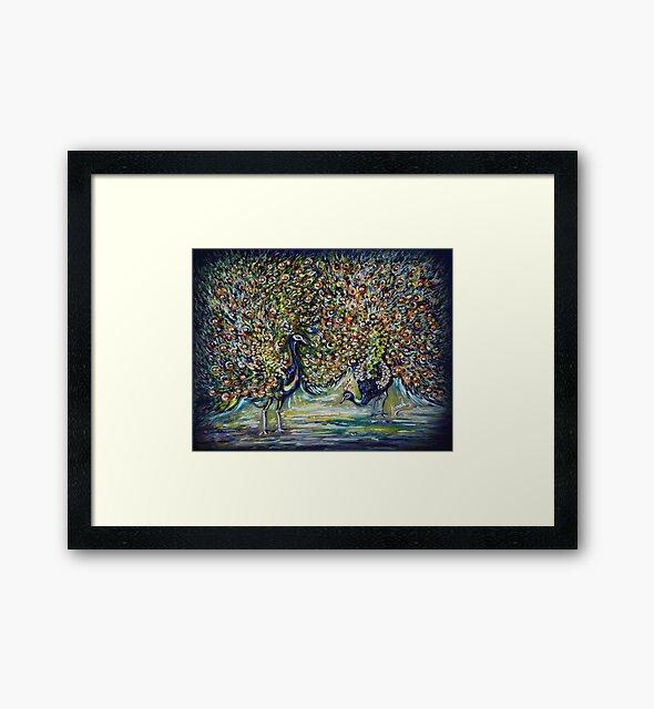 Pfauen - Impressionist von Harsh  Malik