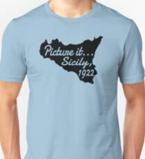 Picture It...Sicily, 1922 Unisex T-Shirt