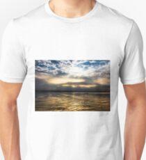 Sunrise Burning Off Clouds Unisex T-Shirt