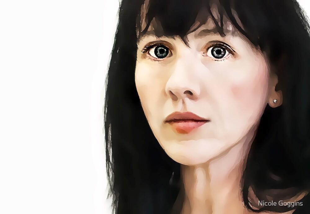 Self Portrait... by Nicole Goggins